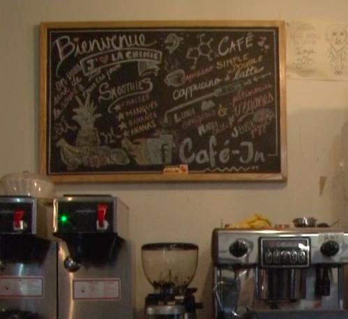 Le Café-In: atome social du département de chimie