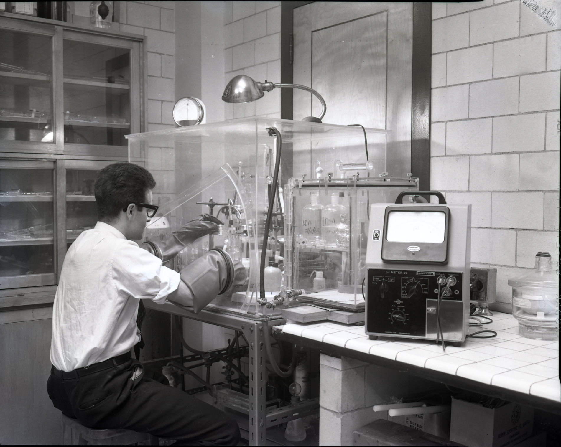 Histoire du département de chimie