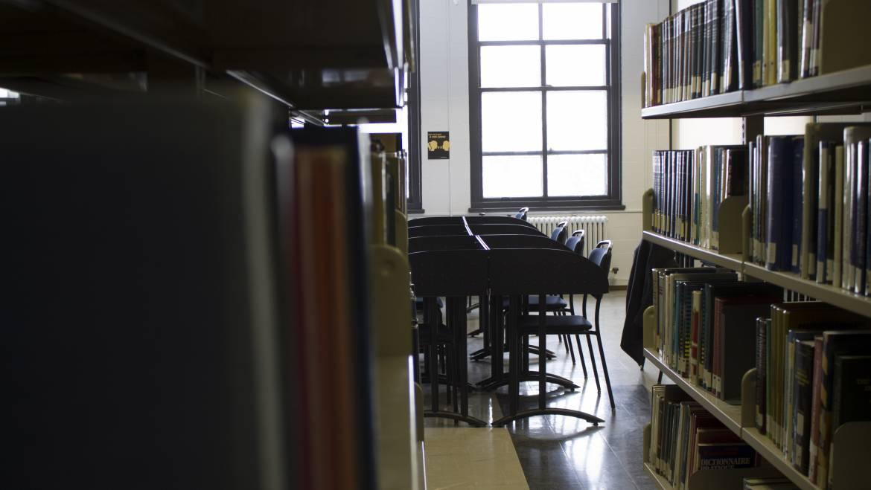 Plusieurs tranches de vie entre les rayons de la Bibliothèque de chimie