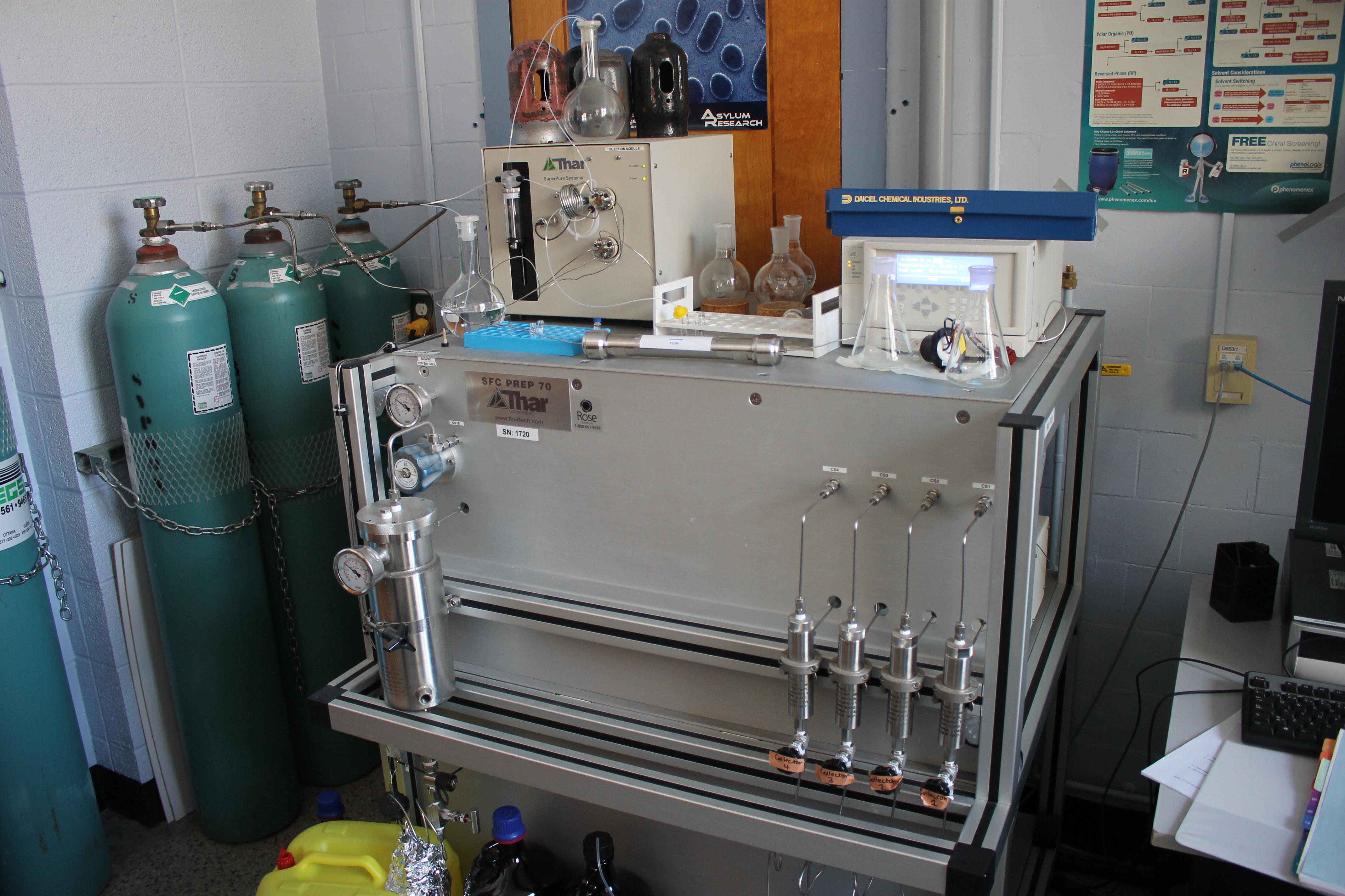 Incursion dans les laboratoires de chimie en compagnie de chercheur.ses de profession